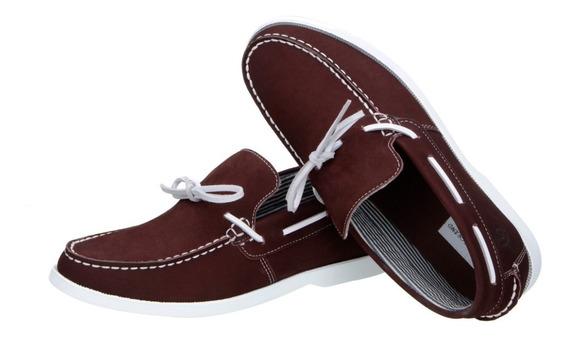 Sapato Social Masculino Nobuck Vinho Couro Numeros Grandes
