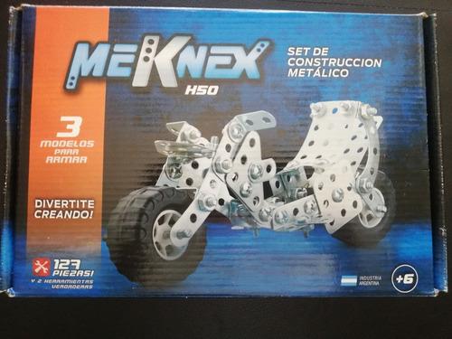 Juego Tipo Mecano Meknek K50 127 Piezas
