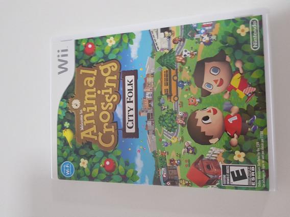 Animal Crossing City Folk (completo) Nintendo Wii