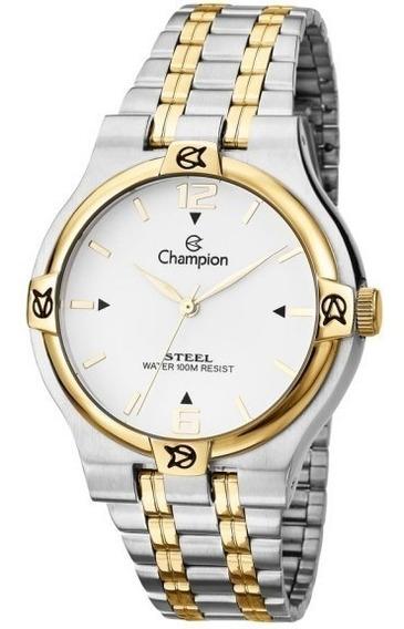 Relógio Champion Masculino Social Steel Analógico Ca21508b
