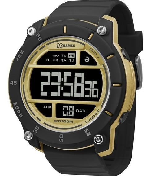 Relógio X-games Masculino Digital Preto Xmppd517pxpx