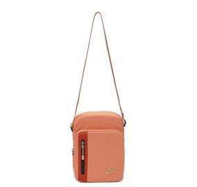 Bolsa Nike Tech Small Coral Feminina Original