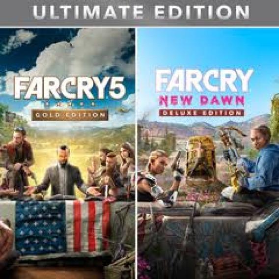 Combo Far Cry Ultimate Edition Ps4 / 2° / Vitalício
