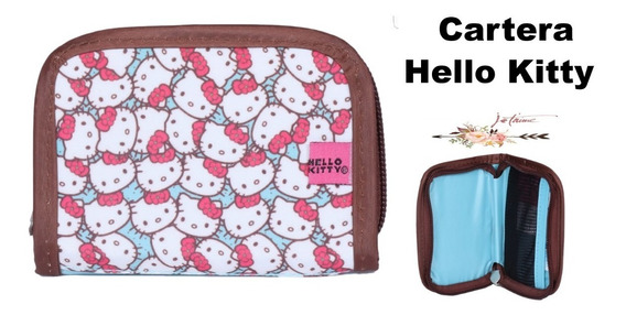 Cartera O Monedero Hello Kitty Original