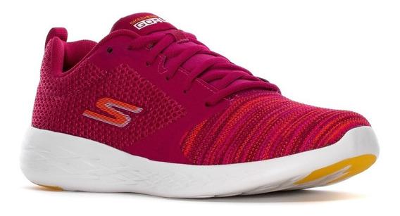 Skechers Zapatillas Running Mujer Go Run 600-reactor Fucsia