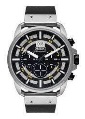 Relogio Cronografo Masculino Prata Orient Mbscc054