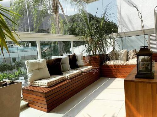Apartamento Com 3 Dormitórios À Venda, 140 M² Por R$ 1.900.000,00 - Joá - Rio De Janeiro/rj - Ap0311
