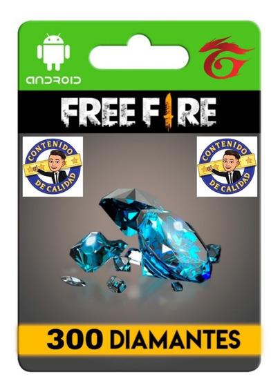 300 Diamantes Free Fire + Bonus