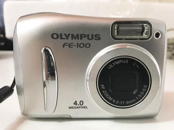 Camara Digital Olympus Fe-100 + Cargador De Pilas + Tripode
