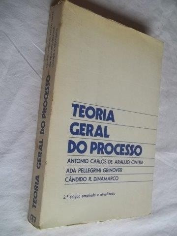 * Livros - Teoria Geral Do Processo - Antonio Carlos Cintra