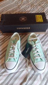 Converse Chuck Taylor All Star Verde Claro/cru/branco Tam 36