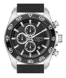 Reloj Lemon L1345-51 46mm Diám Multfuncion Hora Dual Calend