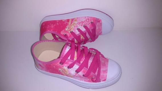 Tênis Barbie Rosa