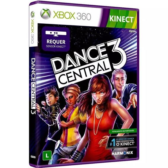 Jogo Dance Central 3 De Kinect Reembalado Em Portugues