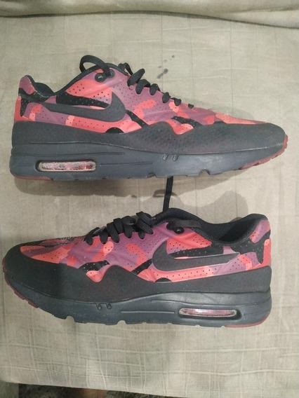 Tênis Nike Air Max Camuflado Vermelho Us 11 Br 43
