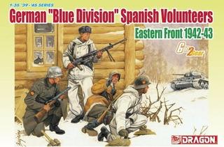 Dragon 6674 German Blue Division Spanish Volunters