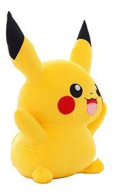 Grande Pelúcia Pokemon Go 40cm Pikachu Pronta Entrega