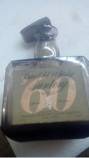 Antigua Botella De Whisky Suntory