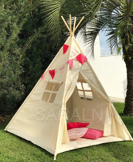 3 Tenda Índio Infantil Toca Cabana Festa Do Pijama Cabana I