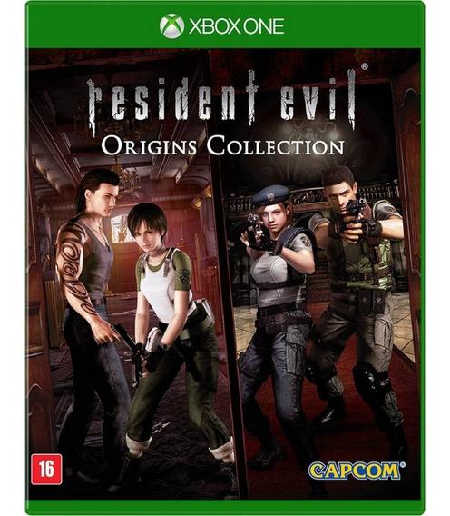 Resident Evil Origins Xbox One Disco Fisico Lacrado Promoção