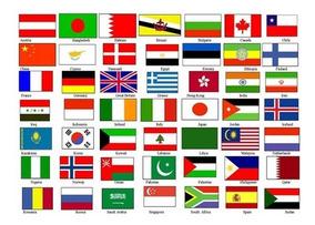 Adesivo Mini Bandeira 18 Unidades Temos Todos Os Países