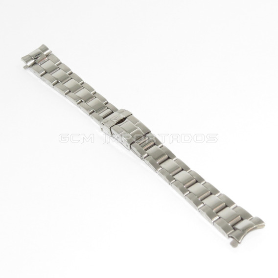Pulseira Para Relógio Rolex 14mm Aço Inox Feminino