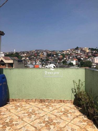 Casa À Venda, 200 M² Por R$ 426.000,00 - Vila Mazzei - Santo André/sp - Ca1106