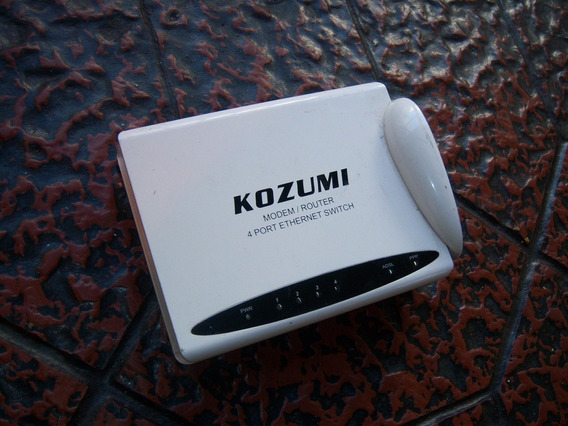 Kozumi Modem Router . 4 Port Ethernet Switch