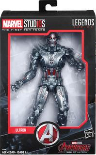 Spiderman - Ultron - Thanos - Iron Man - Marvel Legends