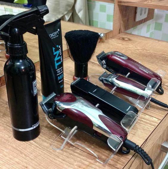 Suporte Para Maquinas De Corte De Cabelos E Barbearia