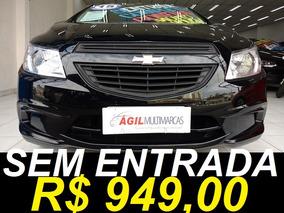 Chevrolet Onix 1.0 Ls Único Dono 2015 Preto Completo