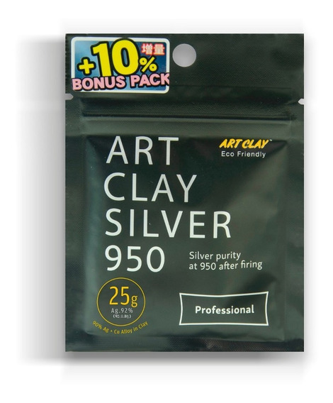 Plata Moldeable Art Clay Ley 950 - 25 Gr