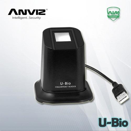 Lector Biometrico Anviz U-bio Capta Huellas, Ep300,vf30-vf10