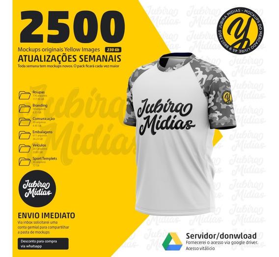 2.500 Mockups Yellow - Acesso Vitalício