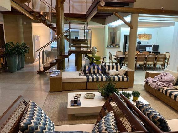 Casa Com 6 Dormitórios À Venda, 865 M² Por R$ 6.900.000,00 - Portal Do Paraíso Ii - Jundiaí/sp - Ca0883