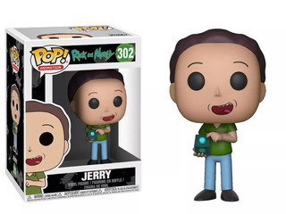 Funko Pop Jerry 302 - Rick And Morty