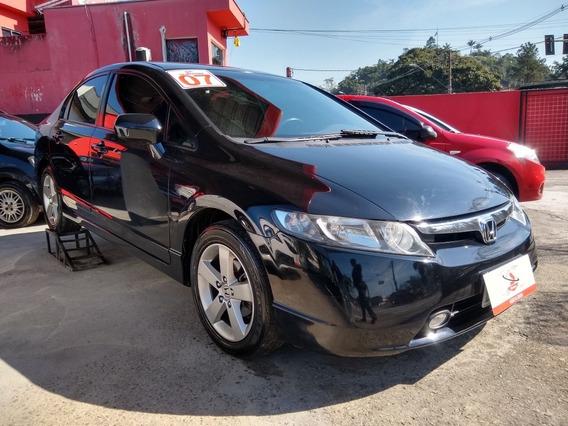 Honda Civic 1.8 Lxs Aut. 4p Ano 2007
