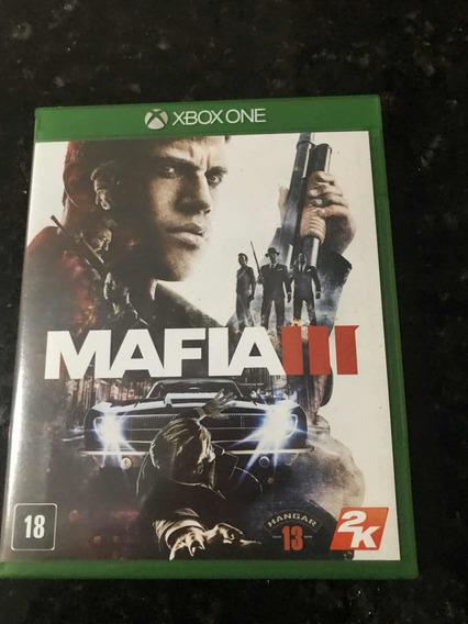 Jogo Xbox One Mafia 3 Original Mídia Física