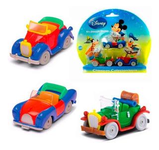Cars Carros Disney Pateta Mickey Donald Diecast Carrinhos