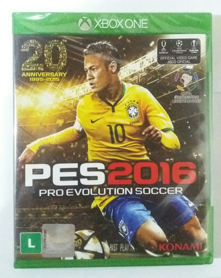 Jogo Pes 2016 - Xbox One - Pro Evolution Soccer Mídia Física