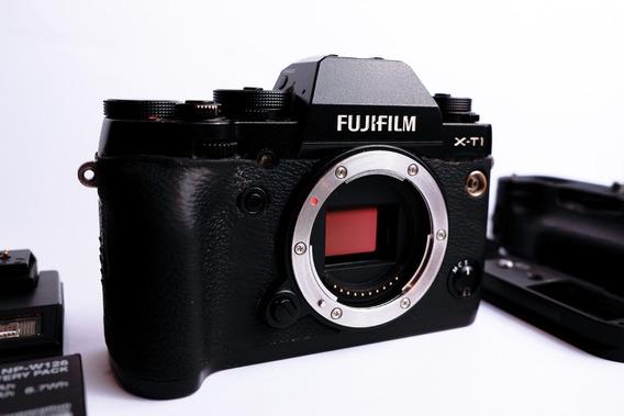Câmera Fujifilm Xt1 + Grip + Half Grip