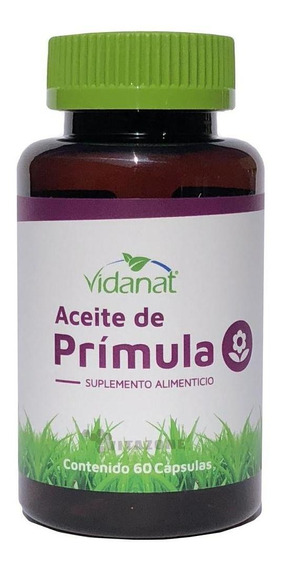 Aceite De Prímula 60 Cápsulas Vidanat