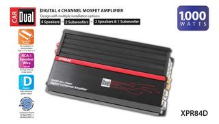 Dual Electronics Xpr84d 2 1 Amplificador