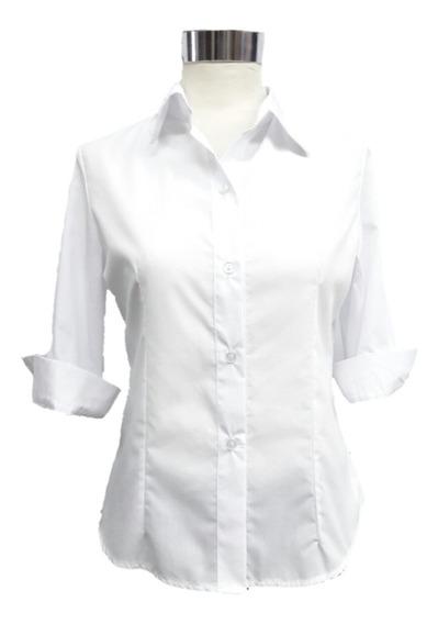 Camisa Entallada T 3 Al 12 Talles Grandes Especial Uniforme