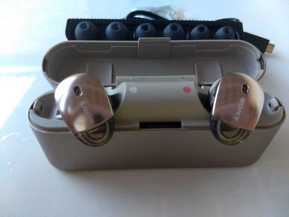 Headphone Sony Wf-1000x Com Noise Cancelling Sem Fio 1000x