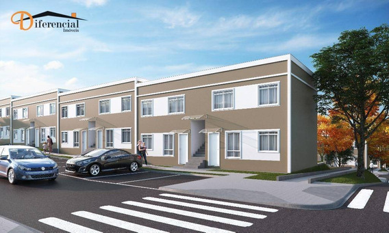 Apartamento Garden Com 2 Dormitórios À Venda, 40 M² Por R$ 138.900 - Jardim Campo Verde - Almirante Tamandaré/pr - Gd0252
