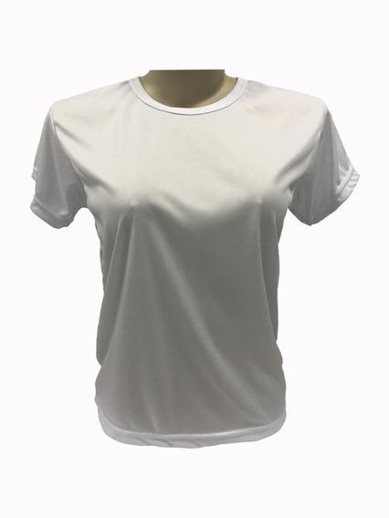 10 Camisetas Dry Fit Poliéster Femininas Ideal Sublimação