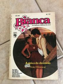 Livro De Romance Bianca Número 41 A Noiva Do Demônio