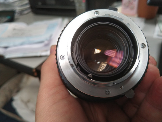 Lente Minolta 80-200 Rokkor-x 4.5 Mc Zoom Manual Push-pull