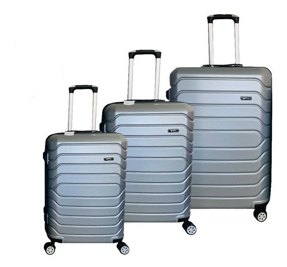 Set De 3 Valijas Rigidas Reforzada Exc Calidad Y Diseño